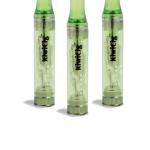 A pack of 3 Green KiwiCig ULTRA refillable cartridge designed for use with KiwiCig Premium E-Liquids