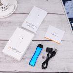 Blue Vape Pod NZ with magnetic charger vape device for disposable pods / vape cartridges buy now vape shop auckland and online vape deliveries