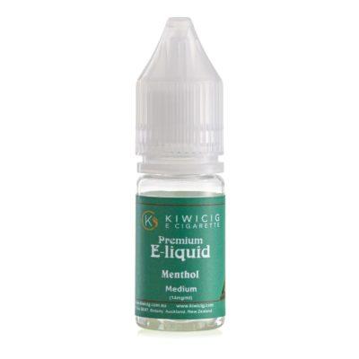Green Premium Menthol Flavoured vape liquid