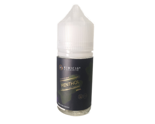 menthol extra high e juice in a 30ml bottle
