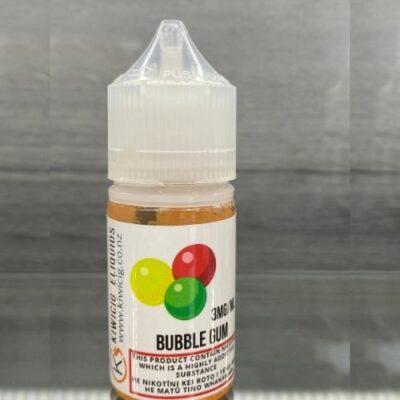 bubblegum flavored e-liquid