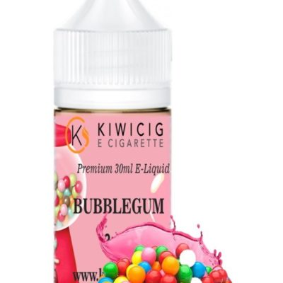 Kiwicig Bubble gum E-Liquid NZ vape e juice, vape refills for e-cigarettes, vapes and vape vape devices at vape shop auckland and online vape deliveries available