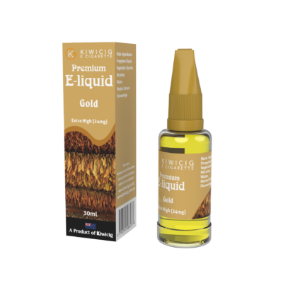 30ml Gold Tobacco E-Liquid-24mg Benson and Hedge flavored e-juice