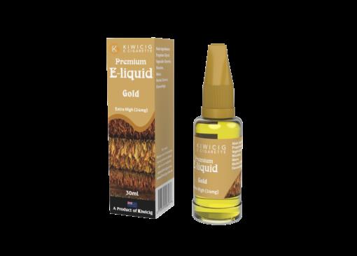 30ml Gold Tobacco E-Liquid-24mg Benson and Hedges and Kent flavoured vape liquid / e juice from vape shop auckland nz